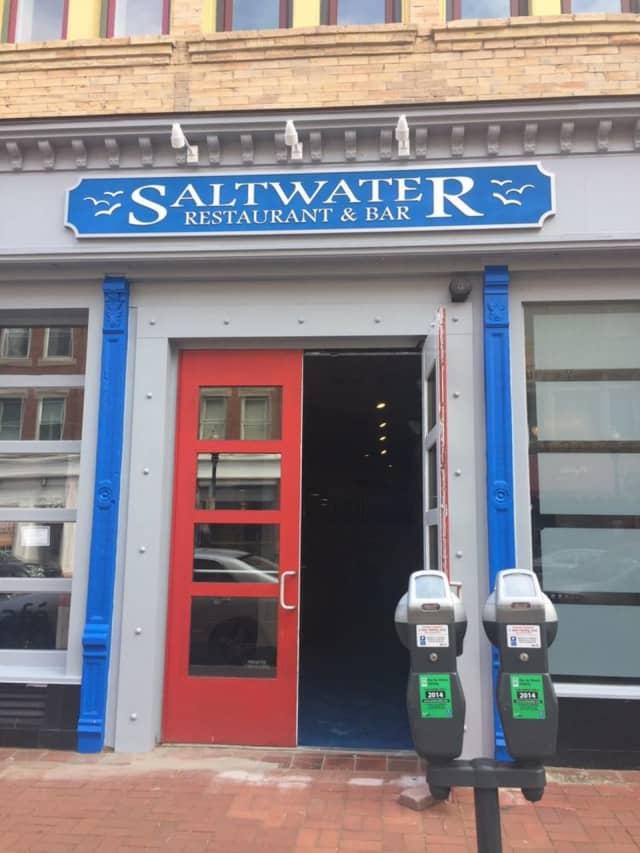 Saltwater Bar and Restaurant in Norwalk.