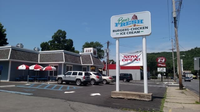 Ben's Fresh has been nominated as one of the top 10 burgers in the state.