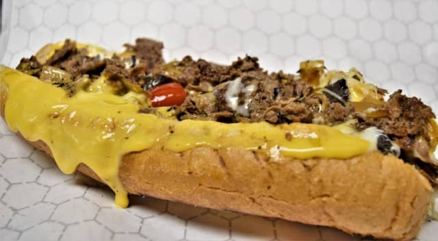 """Chiddy's Cheesesteaks, known for its """"perfect-sized"""" authentic Philly-style cheesesteak sandwiches, has opened a new location in Commack."""