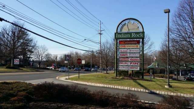 A Suffern man parked in the Indian Rock Shopping Center at night was charged with possession of drugs.