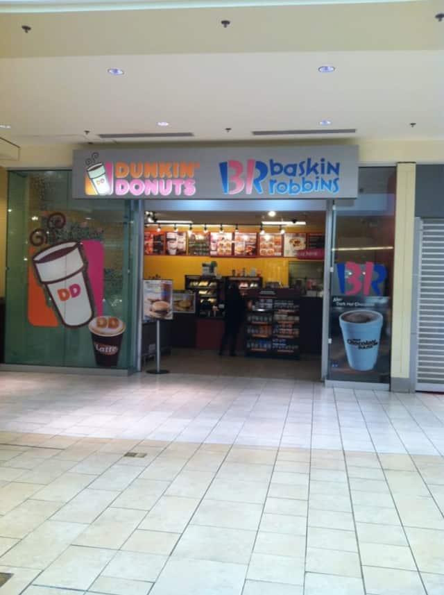 Dunkin Donuts Garden State Plaza.