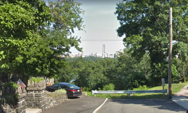 All four bailed when they got to the cliffs, Cliffside Park police said.