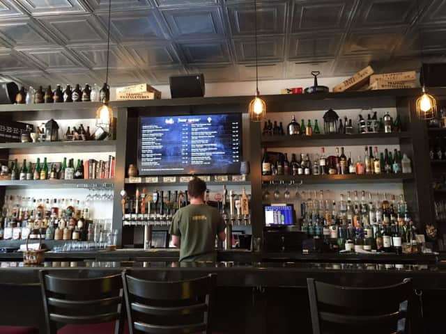 The Oath Craft Beer Sanctuary is a local favorite for drinks in Tarrytown.