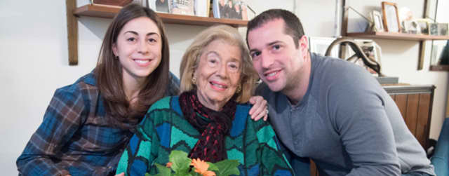 Volunteer to deliver a package and visit with an older person through DOROT's Winter Package Delivery programs, offered at Temple Beth Abraham in Tarrytown.
