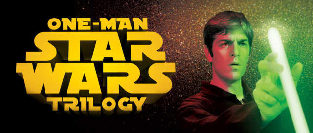 """The One Man Star Wars Trilogy ""is coming to the Bergen Performing Arts Center."