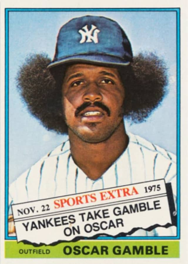 Oscar Gamble baseball card