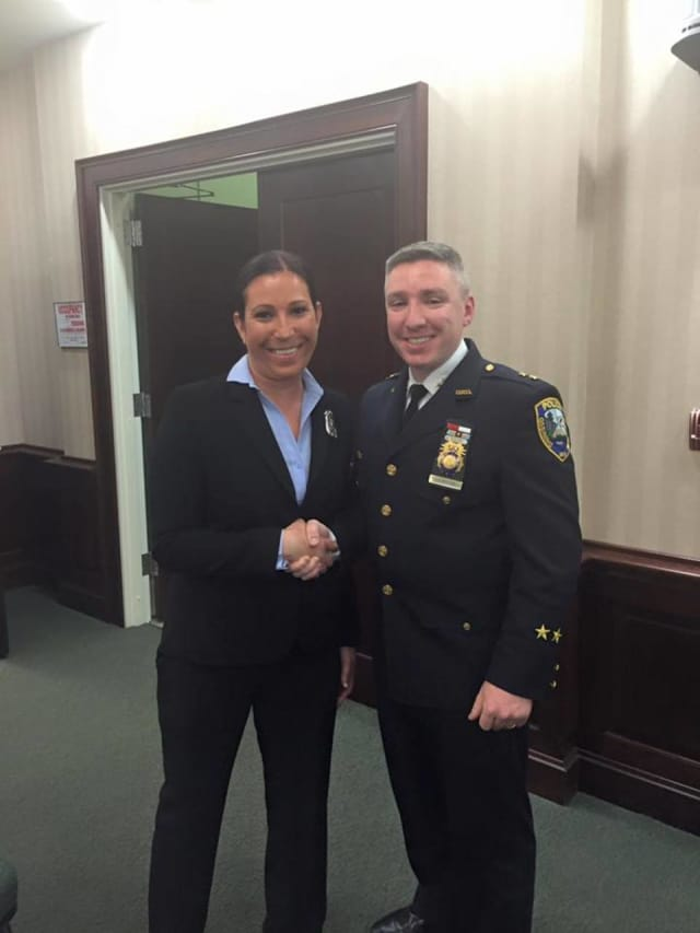 Emily Hirshowitz is the newest Ossining police officer.