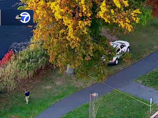 An ABC 7 Eyewitness News chopper provided this photo.