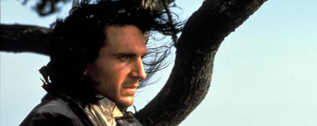 """Ralph Fiennes as Heathcliff in """"Emily Brontë's Wuthering Heights"""" (1992). Courtesy United Archives/Alamy."""