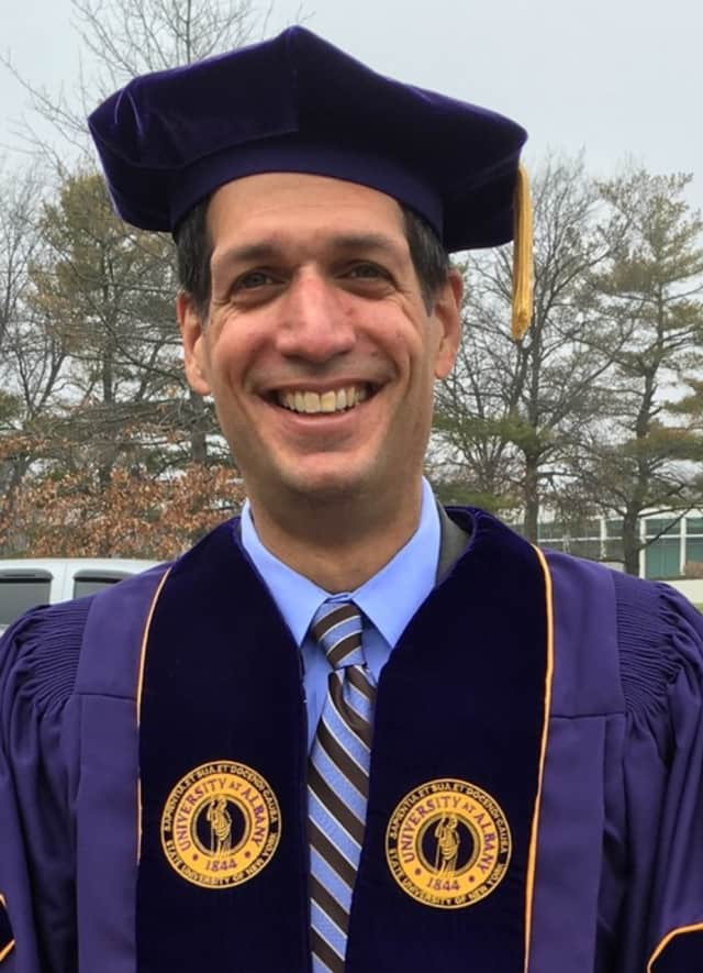 Harry Leonardatos, principal of Clarkstown High School North, has received a State University at Albany Presidential Distinguished Dissertation Award.