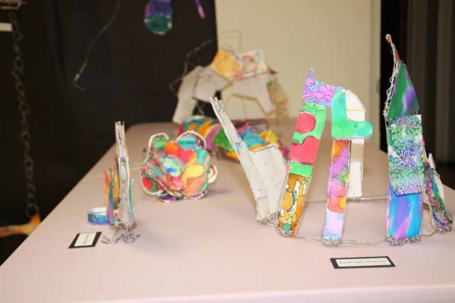 The Middle School Art Show will remain on exhibit until June 15 and 16 at the Mount Pleasant Public Library.