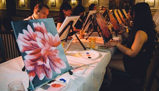 Artytime is leading a painting session this Thursday at a local vineyard.