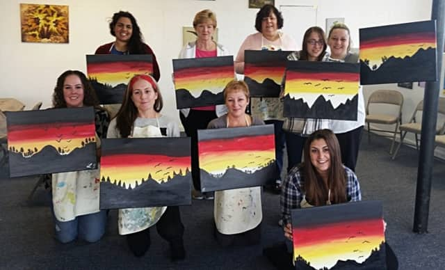 Inspired Spirits is bringing a fundraising painting class to the Lyndhurst American Legion on June 24.