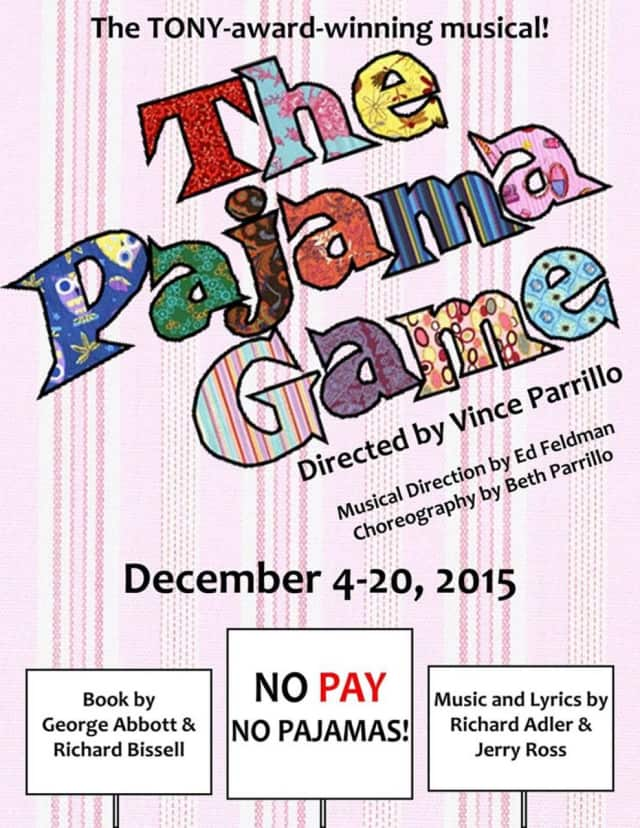 The Players Guild of Leonia presents the Pajama Game in December