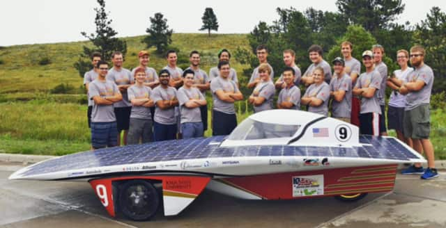 A Panas High School graduate is a member of this American Solar Power challenge team, a cross country race involving solar power cars.