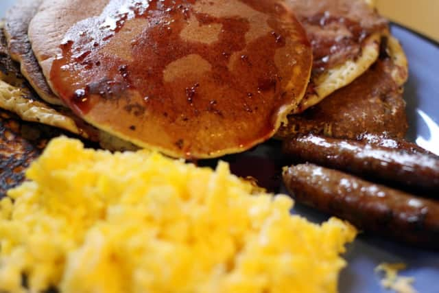 Pancakes, sausage and eggs are on the menu in December at the American Legion.
