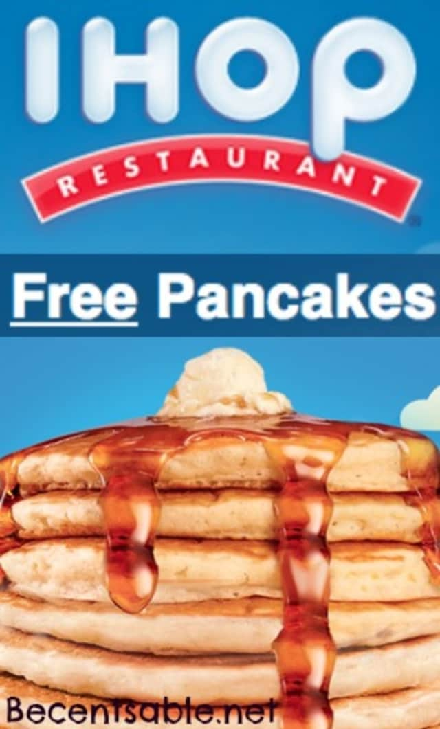 IHOP will be offering free short stacks of its famous pancakes on National Pancake Day. In return, guests will be asked to consider donating to a worthy cause.
