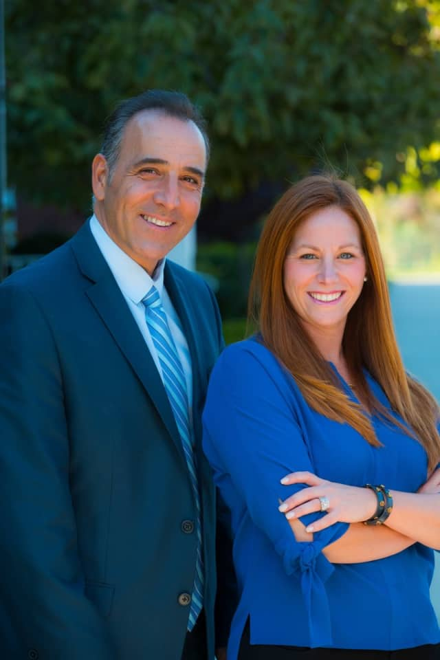 Pat Verile and Holly Tedesco-Santos will be honored at the second annual Mayor's Ball in Paramus.