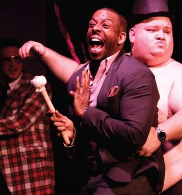 """A scene from """"The Gong Show Off Broadway,"""" which is coming in September to Bergen Community College in Paramus."""