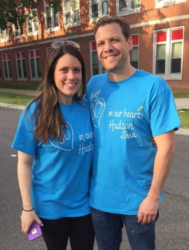 Melissa and Adam Moskowitz, founders of The Hudson Shea Foundation.