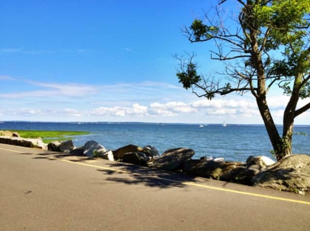 Greenwich Point Park (Tod's Point) is a popular spot for Greenwich residents.