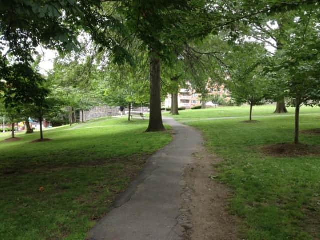 Turnure Park is a popular spot for White Plains residents.