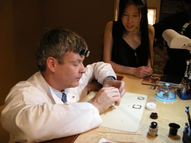Patek Phillipe Master Watchmaker Laurent will talk to Ridgewood AM Rotary Club on December 31.