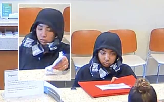 Anyone who knows her, sees her or has information that could help catch the robber is asked to contact city Detective Jason English or Detective Sgt. Jack DeSalvo at (973) 321-1120.