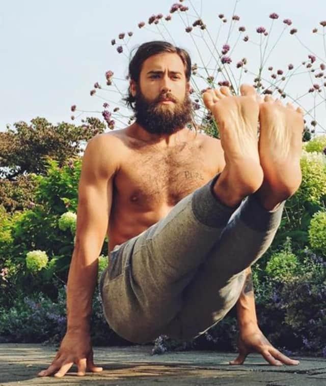 Yoga star Patrick Beach will teach a class in Westwood.