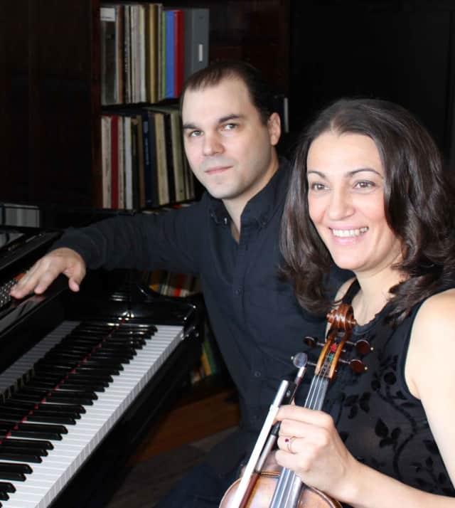 Paul Morin and Patrisa Tomassini