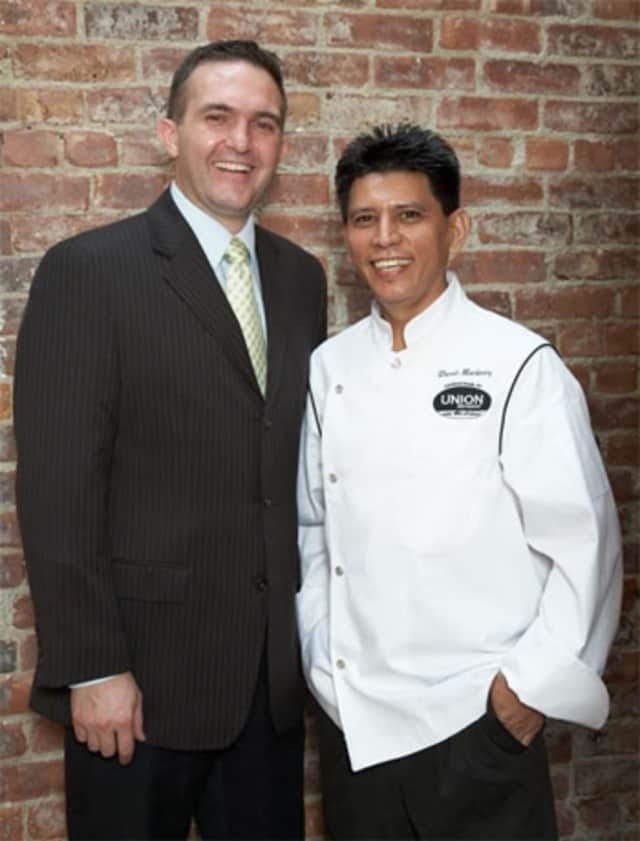 Paulo Feteira and David Martinez of Union Restaurant and Bar Latino