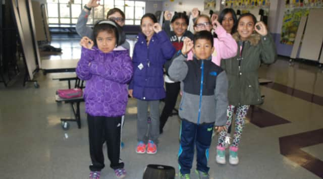 Church Street Elementary School in White Plains has reached nearly zero waste with only three pounds of trash from nearly 700 students in the lunchroom