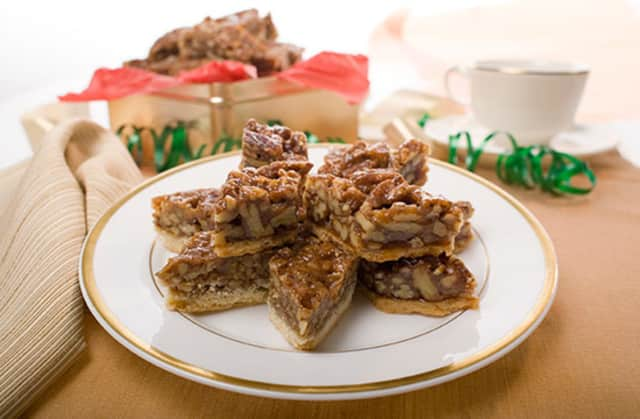 Pecan diamonds could sparkle on your plate if you download a free recipe for the cookie from The Culinary Institute of America.