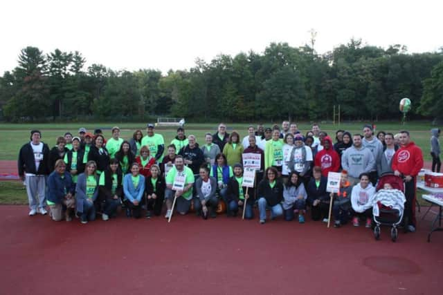Participants of the Peekskill City School District's inaugural Superintendent's 5K and Fun Run