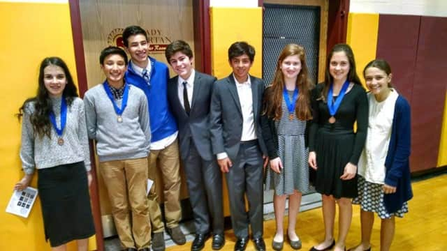 Pelham Pelicans recently participated in the Lower Hudson Regional History Day Competition.