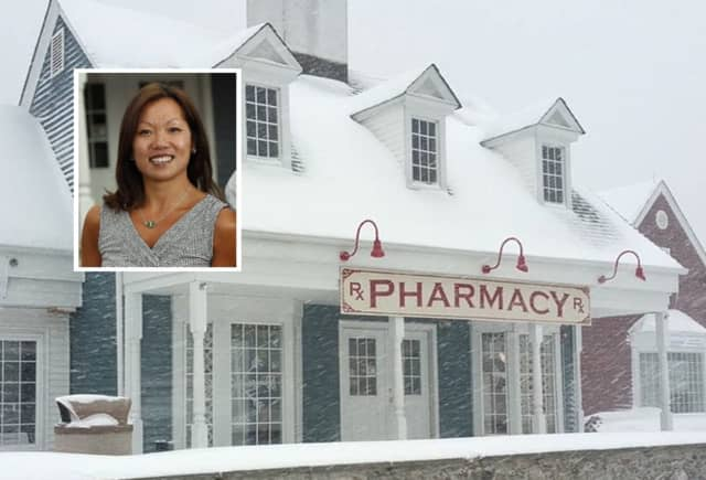 Panther Valley Pharmacy in Allamuchy / INSET: Anny Chan