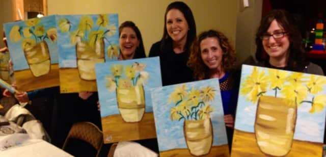 Paint With Me instructor Nikki Sausen will be at Keter Torah on Monday, Feb. 8 from 8-10 p.m.