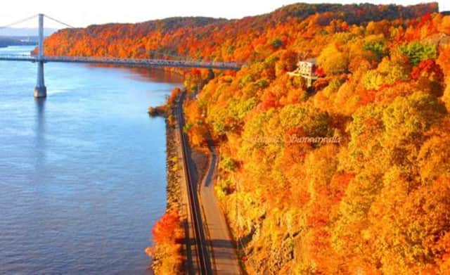 This photo by Fatima Sanwarwalla of Newburgh was chosen as the winner of Central Hudson Gas & Electric Corp.'s third annual Fall Foliage Photo Contest.