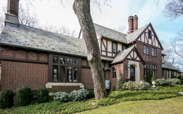 A home at 6 Overdale Road in Rye boasts traditional Tudor qualities, and is being marketed by Fiona Dogan of Julia B. Fee Sotheby's International Realty.