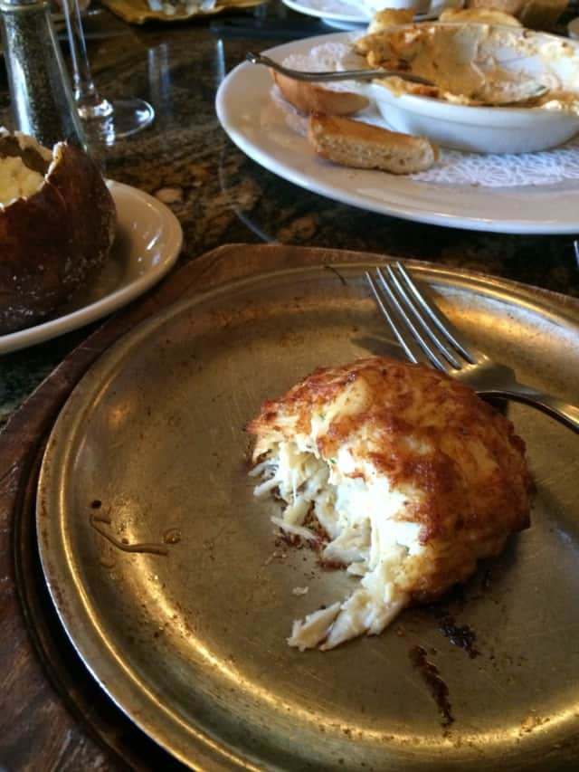 Crab cakes from Dutch's Daughter in Frederick, MD.