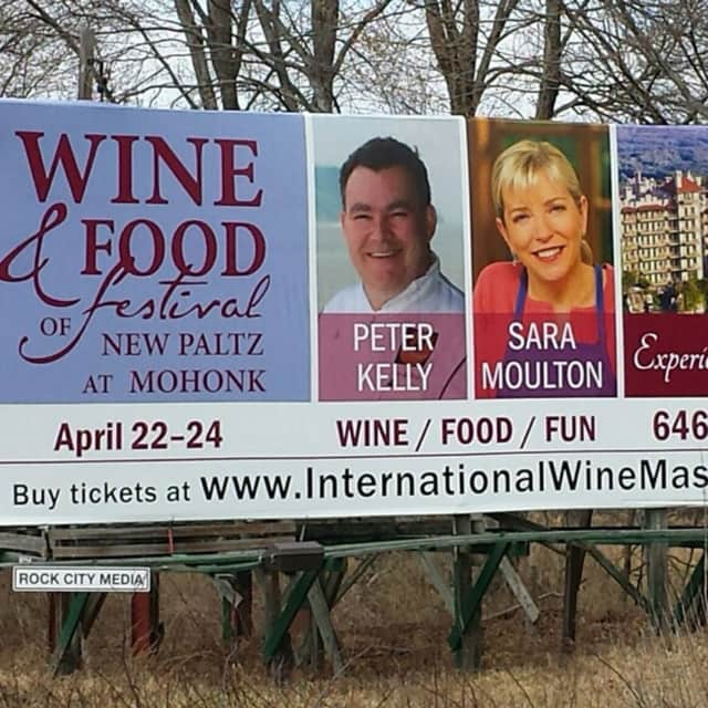 Chef Peter X.. Kelly will be at the Wine & Food Festival in New Paltz.
