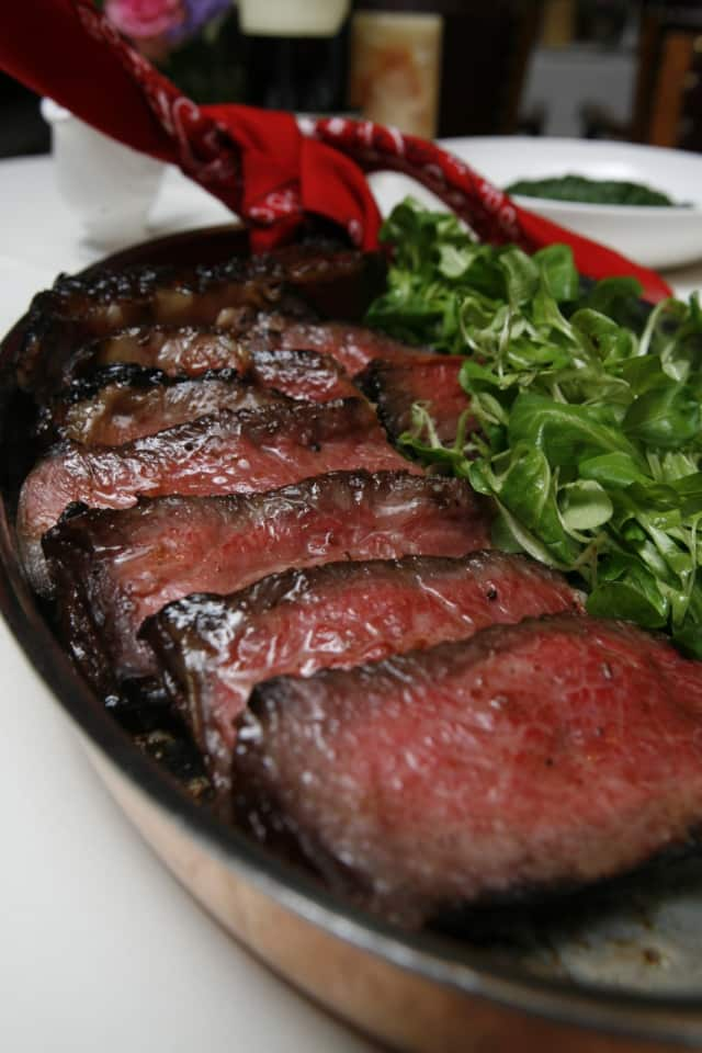 Chef Peter X. Kelly's famous Cowboy Rib-Eye is perfect for grilling.