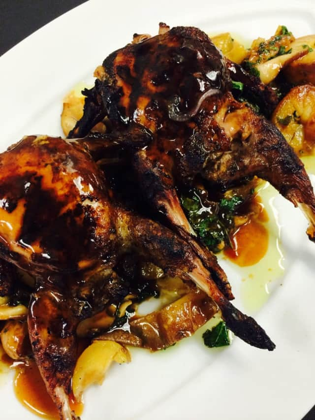 Quail, says Chef Peter X. Kelly, is a great Fall dish.