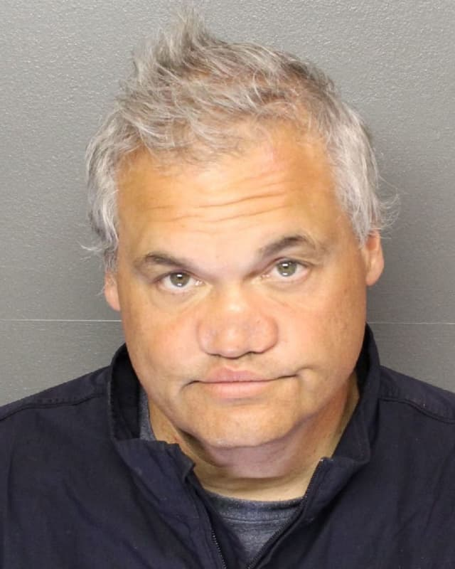 Artie Lange following his arrest Tuesday.