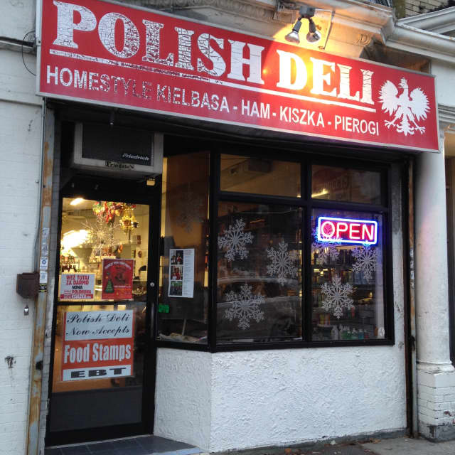The Polish Deli in Yonkers.