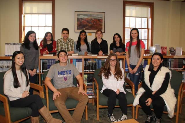 Pleasantville High students recently wrote, memorized and recited original poems in French.