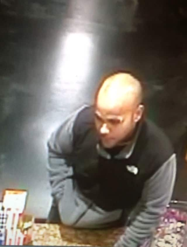 Haledon police said this man robbed a local convenience store.