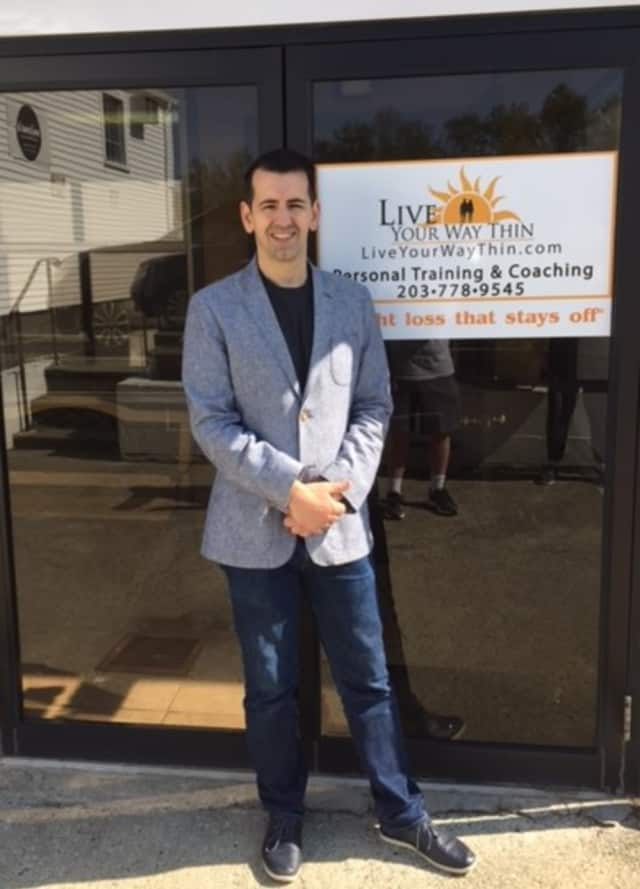 Stavros Mastrogiannis of Live Your Way Thin in Danbury, which is celebrating 20 years in business.