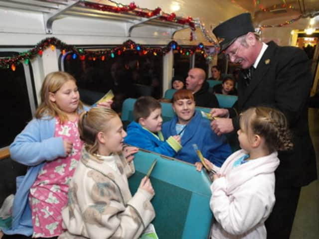 """The Somers Library will have a """"Polar Express"""" pajama party Monday."""