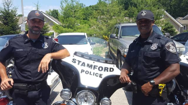 Willie Guilford and Dave Squitieri have joined the Stamford Police Department Motorcycle Unit.